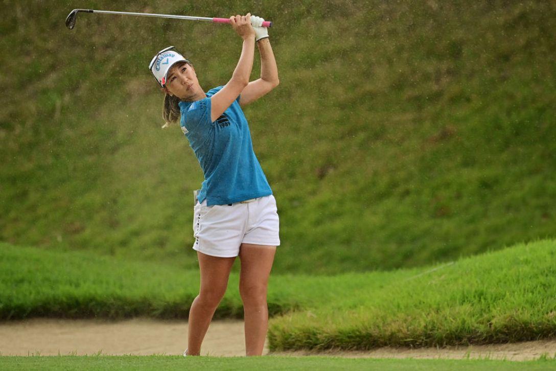 日本女子オープンゴルフ選手権 最終日 上田桃子 <Photo:Atushi Tomura/Getty Images>