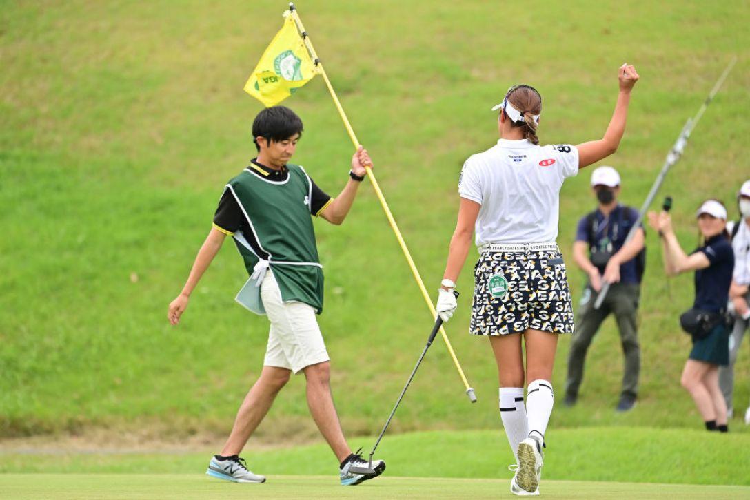 日本女子オープンゴルフ選手権 最終日 原英莉花 <Photo:Atushi Tomura/Getty Images>