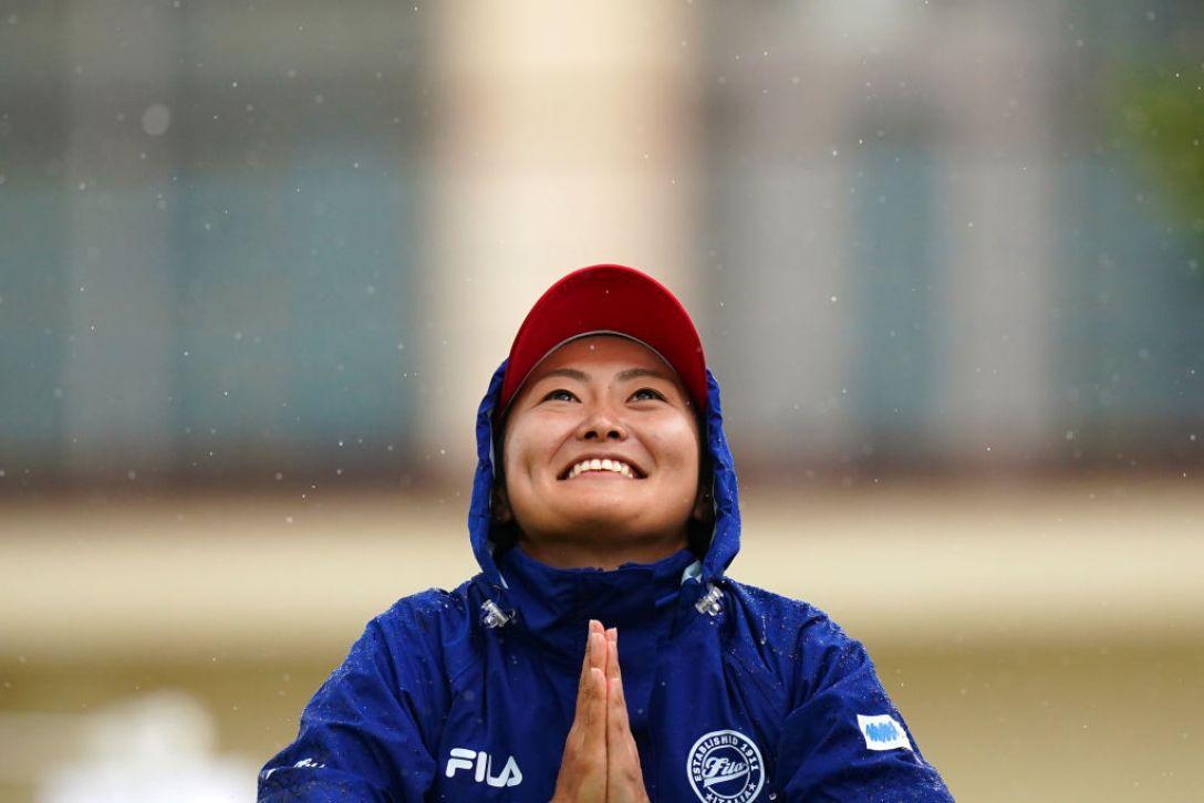かねひで美やらびオープン 最終日 西木裕紀子 <Photo:Ken Ishii/Getty Images>