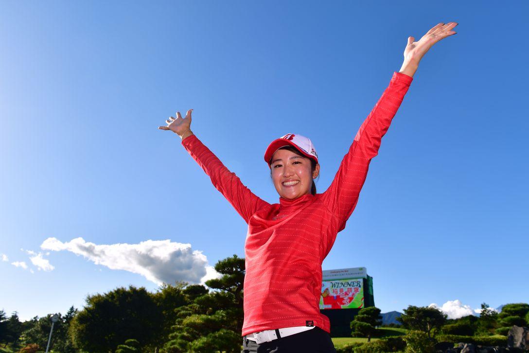 スタンレーレディスゴルフトーナメント 最終日 稲見萌寧 <Photo:Atsushi Tomura/Getty Images>