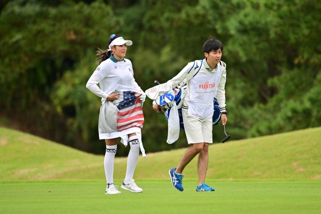 富士通レディース 2020 第1日 原英莉花 <Photo:Atsushi Tomura/Getty Images>