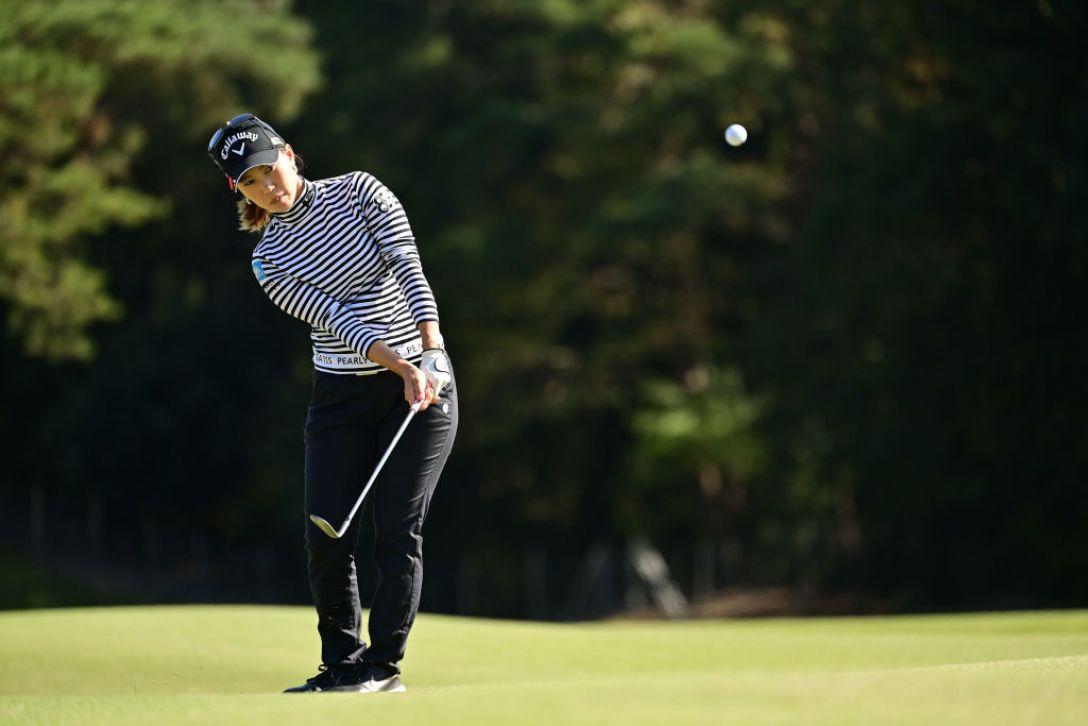 樋口久子 三菱電機レディスゴルフトーナメント 第2日 上田桃子 <Photo:Atsushi Tomura/Getty Images>