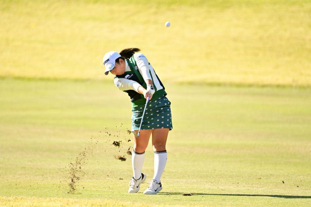 樋口久子 三菱電機レディスゴルフトーナメント 第2日 淺井咲希 <Photo:Atsushi Tomura/Getty Images>