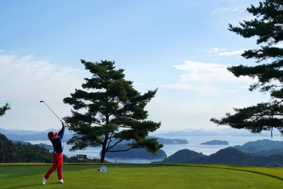 ダイクレレディースカップ 第2日 小川陽子 <Photo:Ken Ishii/Getty Images>