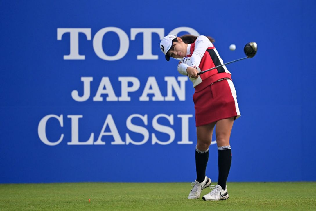 TOTOジャパンクラシック 最終日 三ヶ島かな <Photo:Atsushi Tomura/Getty Images>