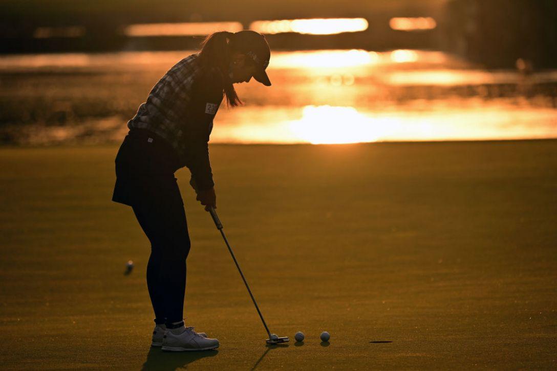 第36回伊藤園レディスゴルフトーナメント 第1日 菊地絵理香 <Photo:Atsushi Tomura/Getty Images>