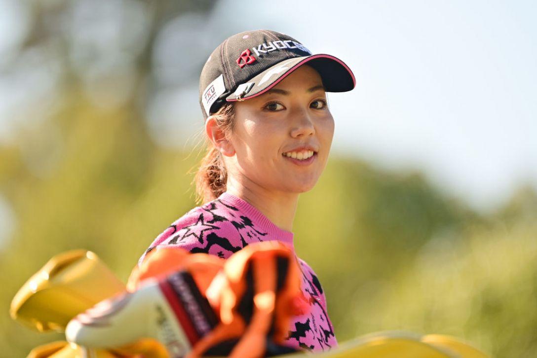 第36回伊藤園レディスゴルフトーナメント 第1日 笠りつ子 <Photo:Atsushi Tomura/Getty Images>