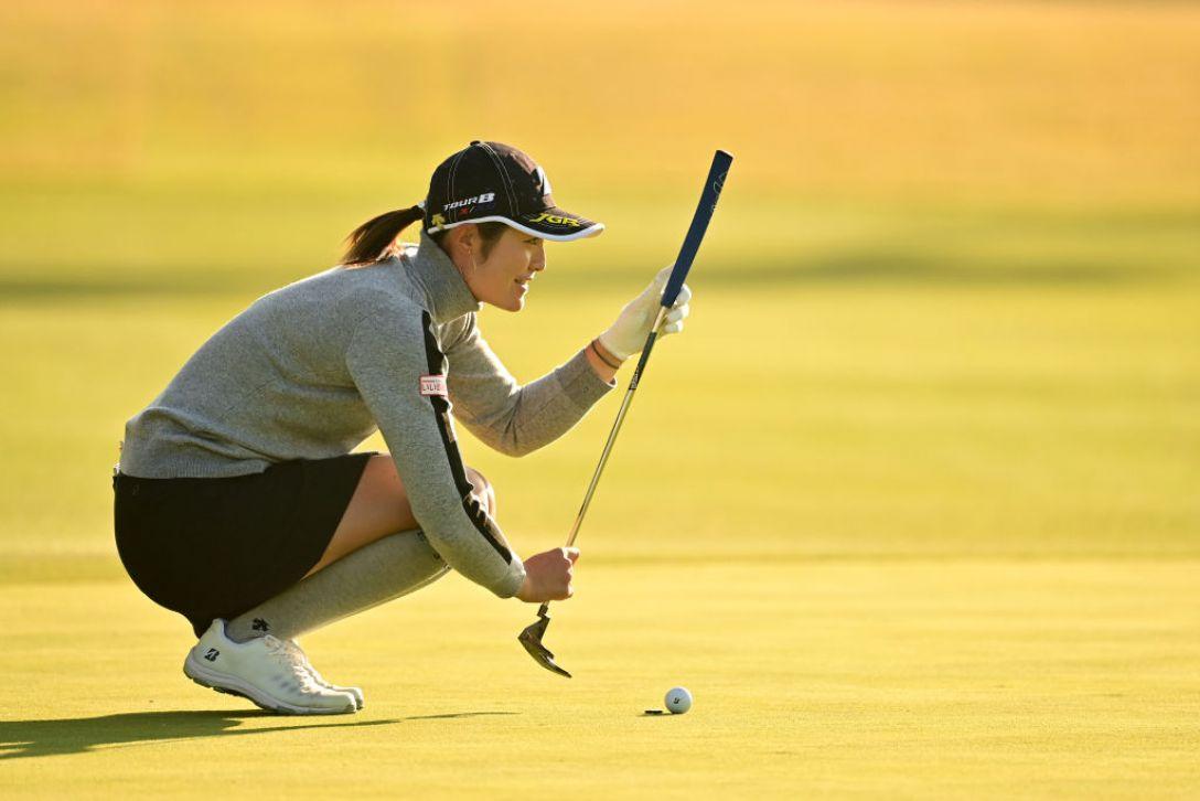 第36回伊藤園レディスゴルフトーナメント 第1日 渡邉彩香 <Photo:Atsushi Tomura/Getty Images>