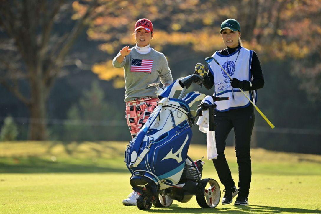 第36回伊藤園レディスゴルフトーナメント 第2日 木戸愛 <Photo:Atsushi Tomura/Getty Images>