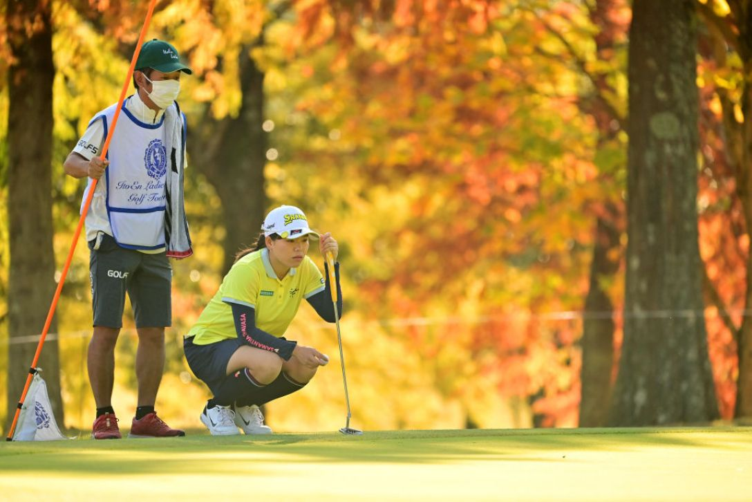 第36回伊藤園レディスゴルフトーナメント 第2日 勝みなみ <Photo:Atsushi Tomura/Getty Images>