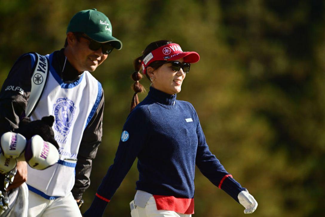 第36回伊藤園レディスゴルフトーナメント 最終日 有村智恵 <Photo:Atsushi Tomura/Getty Images>