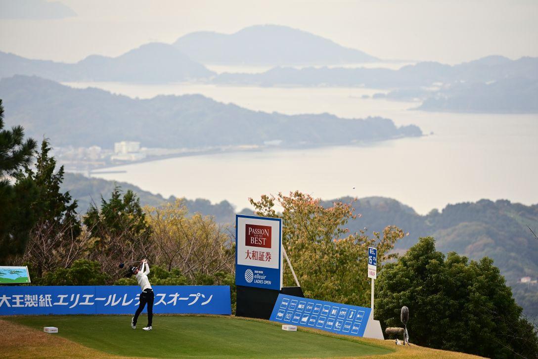 第39回大王製紙エリエールレディスオープン 最終日 吉本ここね <Photo:Atsushi Tomura/Getty Images>