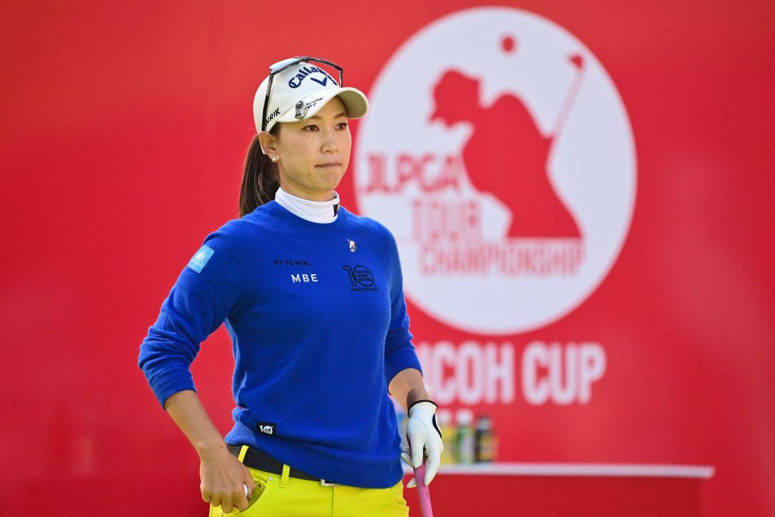 JLPGAツアーチャンピオンシップリコーカップ 第3日 上田桃子 <Photo:Atsushi Tomura/Getty Images>