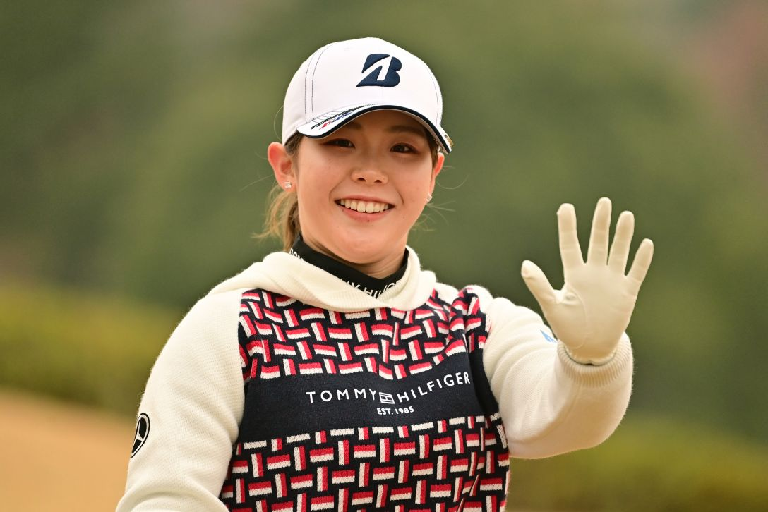 JLPGA新人戦 加賀電子カップ 第1日 吉田 優利<Photo:Atsushi Tomura/Getty Images>