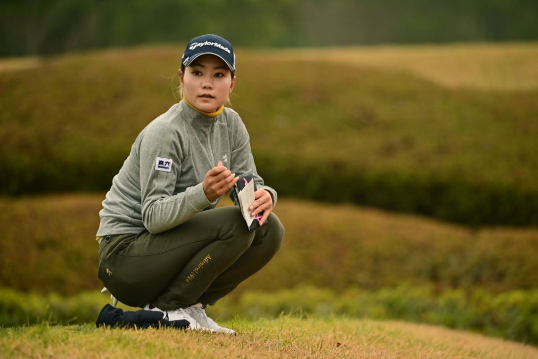 JLPGA新人戦 加賀電子カップ 最終日 山路晶<Photo:Atsushi Tomura/Getty Images>