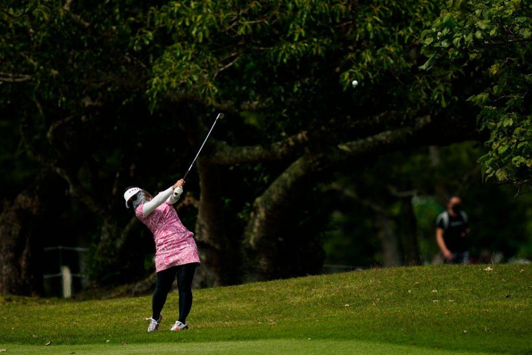 第34回ダイキンオーキッドレディスゴルフトーナメント 第1日 大城さつき <Photo:Ken Ishii/Getty Images>