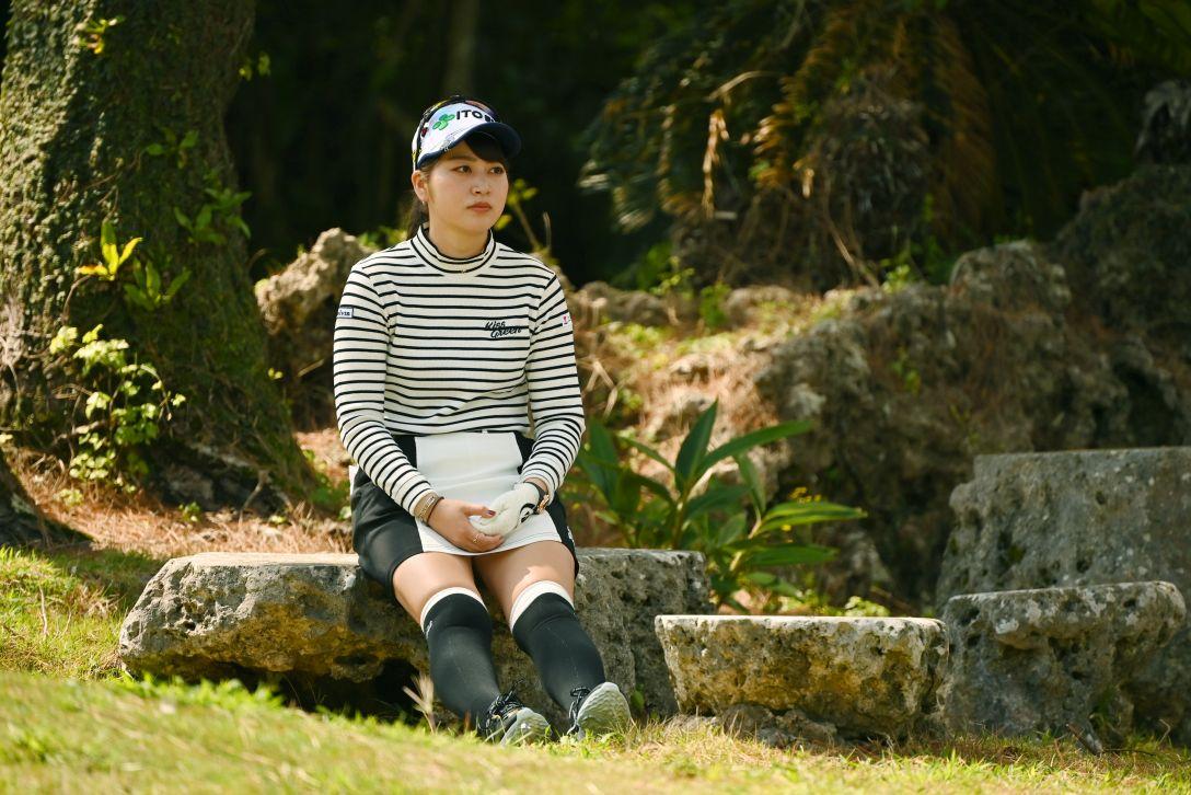 第34回ダイキンオーキッドレディスゴルフトーナメント 第2日 田辺ひかり <Photo:Atsushi Tomura/Getty Images>