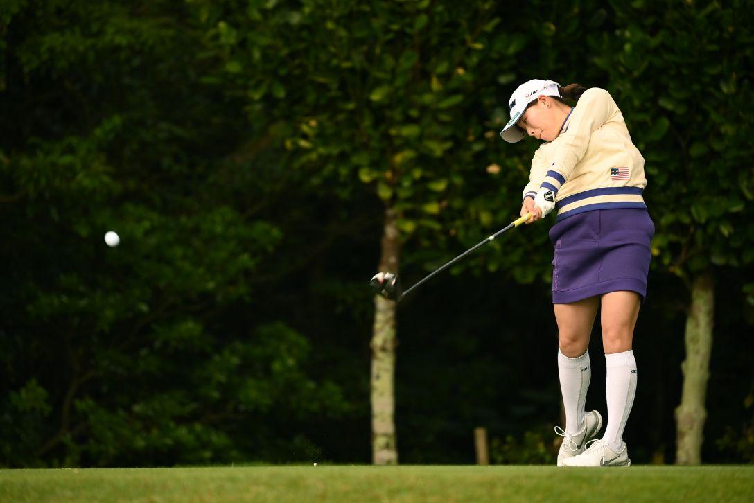 第34回ダイキンオーキッドレディスゴルフトーナメント 第2日 勝みなみ <Photo:Atsushi Tomura/Getty Images>