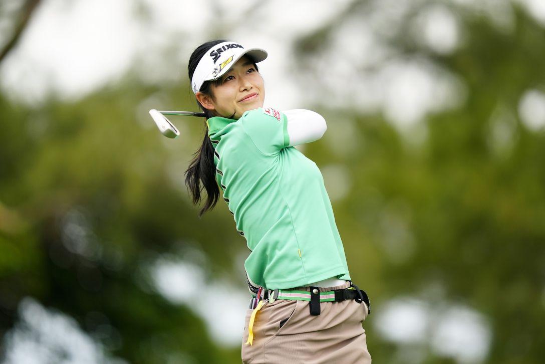 第34回ダイキンオーキッドレディスゴルフトーナメント 第2日 吉本ここね <Photo:Ken Ishii/Getty Images>