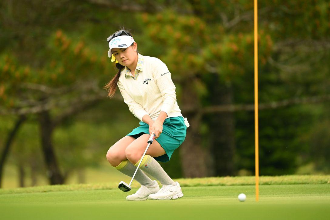 第34回ダイキンオーキッドレディスゴルフトーナメント 第2日 河本結 <Photo:Atsushi Tomura/Getty Images>