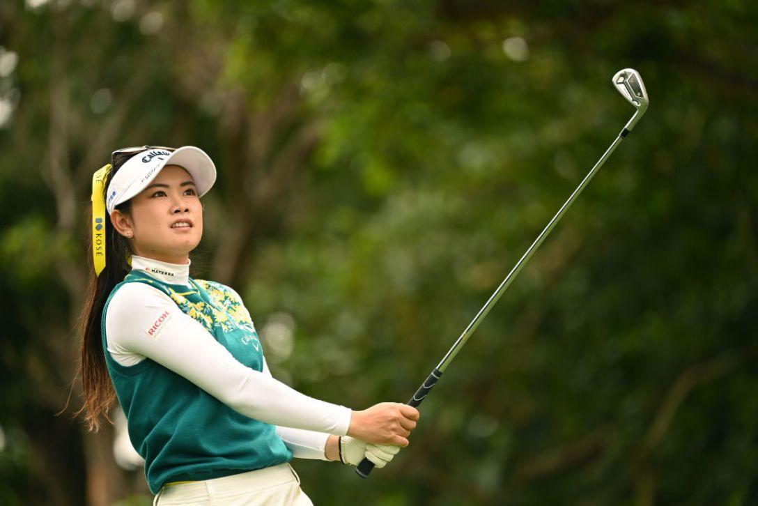 第34回ダイキンオーキッドレディスゴルフトーナメント 第3日 河本結 <Photo:Atsushi Tomura/Getty Images>