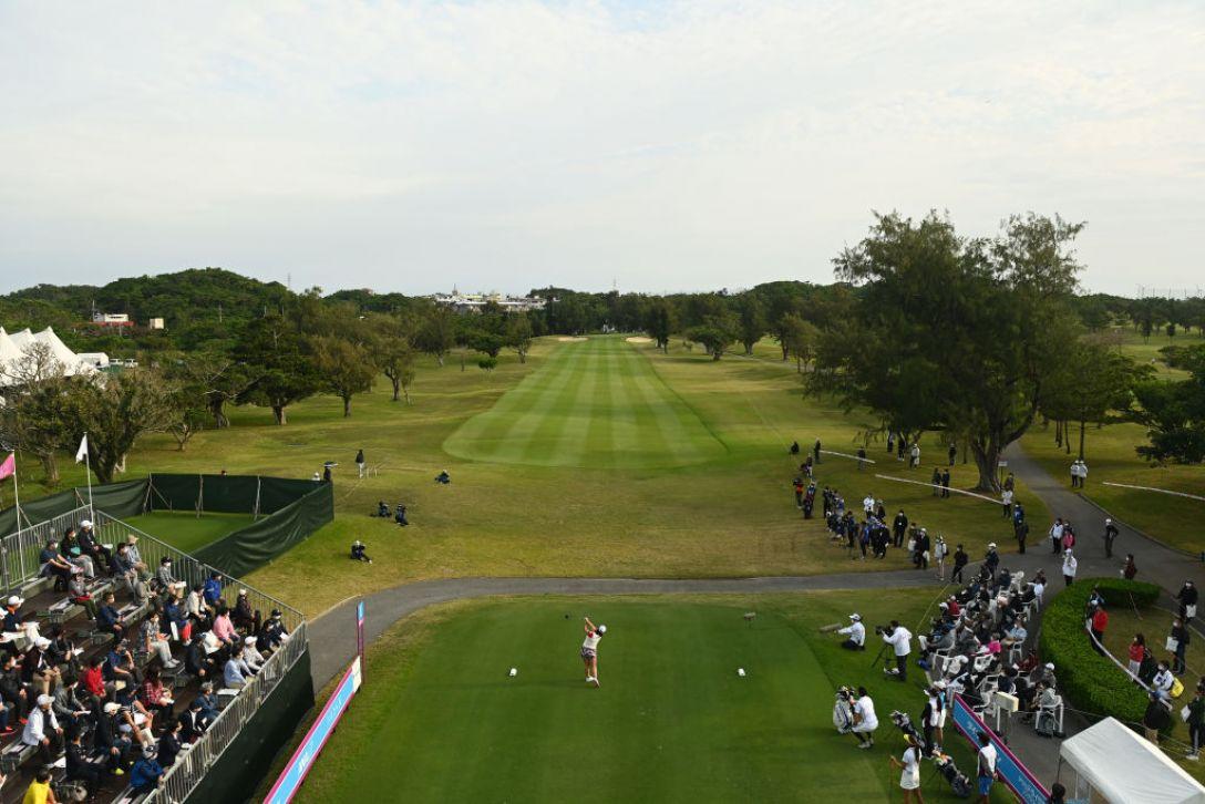 第34回ダイキンオーキッドレディスゴルフトーナメント 第3日 ささきしょうこ <Photo:Atsushi Tomura/Getty Images>