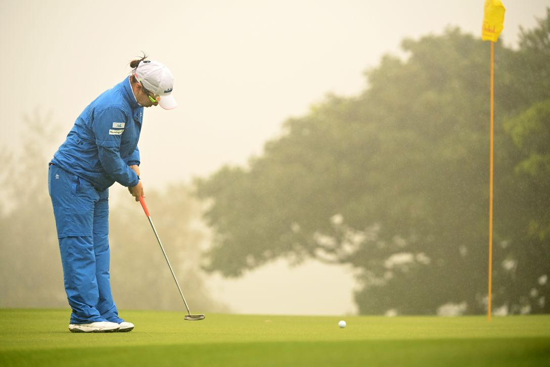 第34回ダイキンオーキッドレディスゴルフトーナメント 最終日 宮里美香 <Photo:Atsushi Tomura/Getty Images>