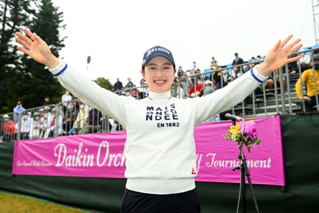 第34回ダイキンオーキッドレディスゴルフトーナメント 最終日 小祝さくら <Photo:Atsushi Tomura/Getty Images>
