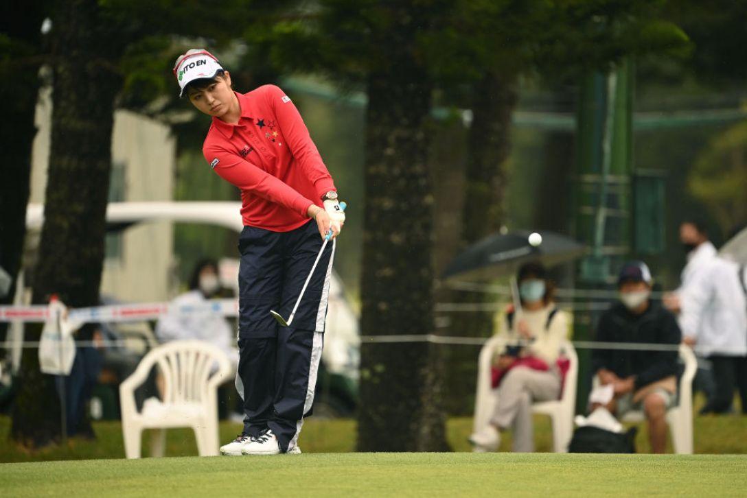 第34回ダイキンオーキッドレディスゴルフトーナメント 最終日 田辺ひかり <Photo:Atsushi Tomura/Getty Images>