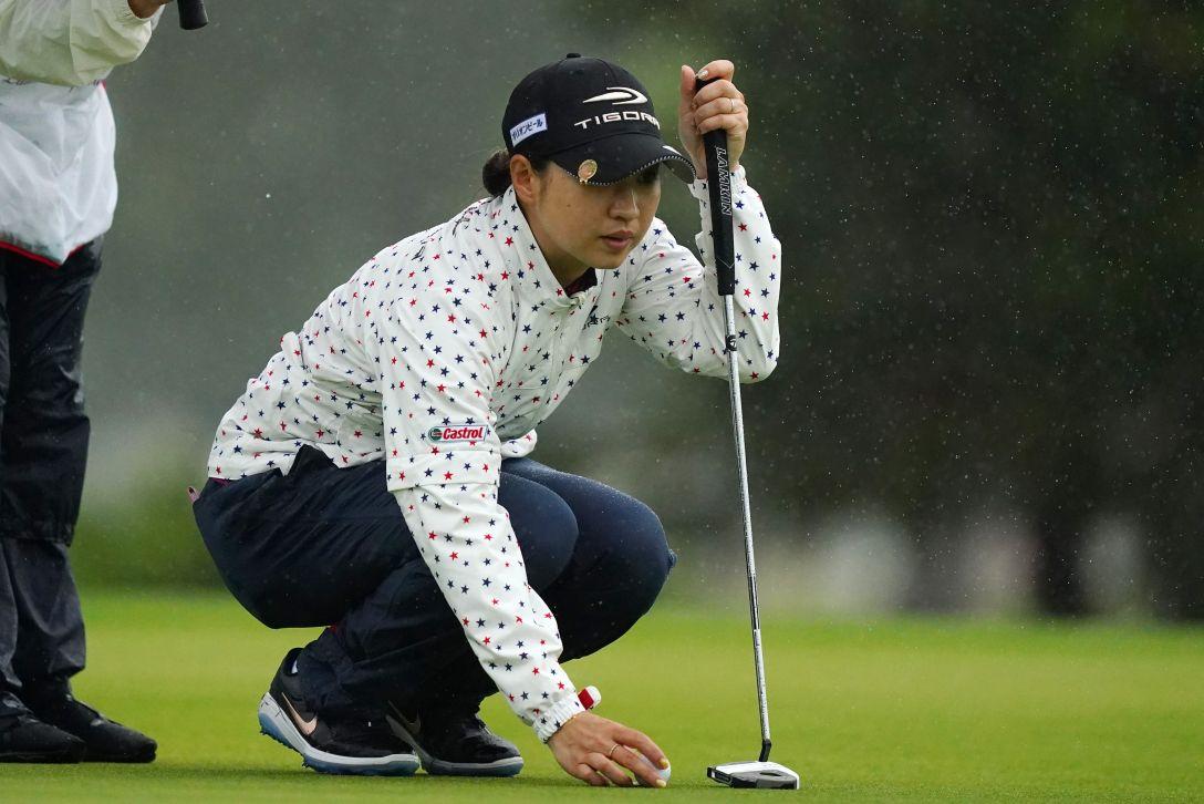 第34回ダイキンオーキッドレディスゴルフトーナメント 最終日 川満陽香理 <Photo:Ken Ishii/Getty Images>