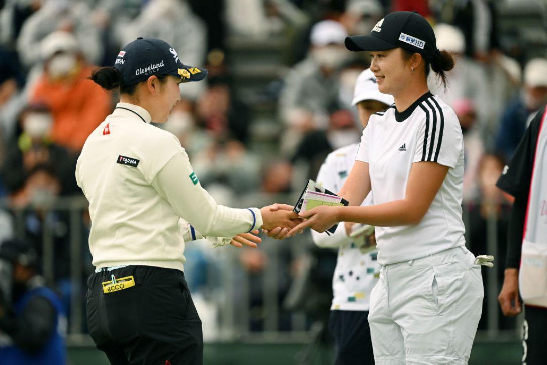 第34回ダイキンオーキッドレディスゴルフトーナメント 最終日 小祝さくら 森田遥 <Photo:Atsushi Tomura/Getty Images>