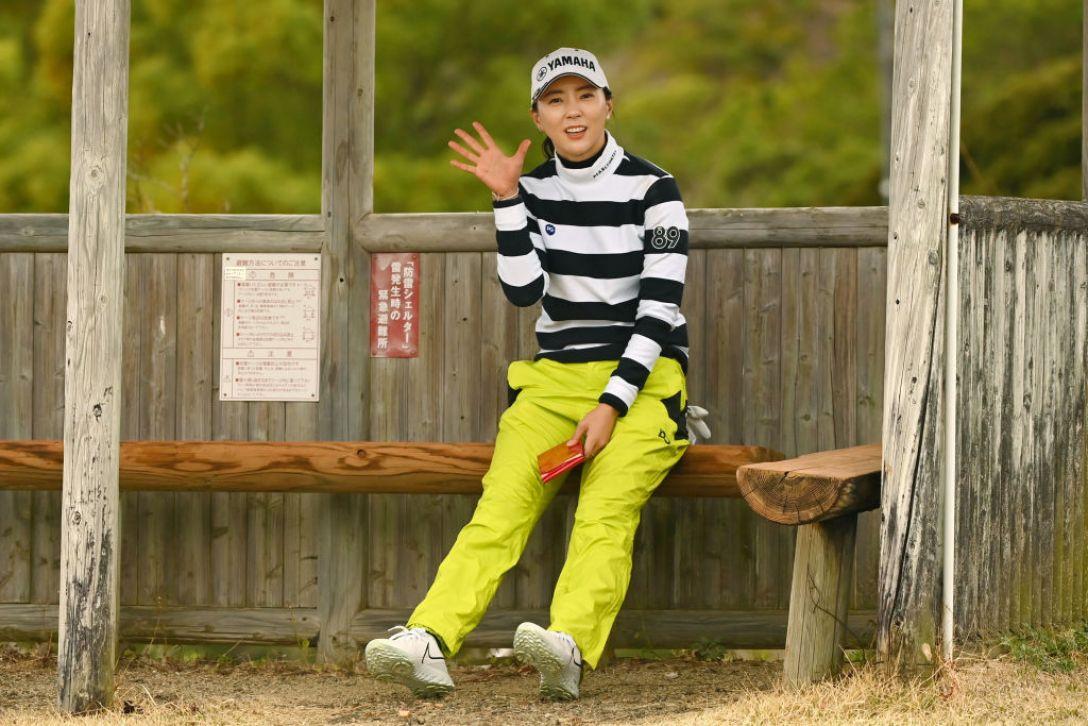明治安田生命レディス ヨコハマタイヤゴルフトーナメント 第1日 ユンチェヨン <Photo:Atsushi Tomura/Getty Images>
