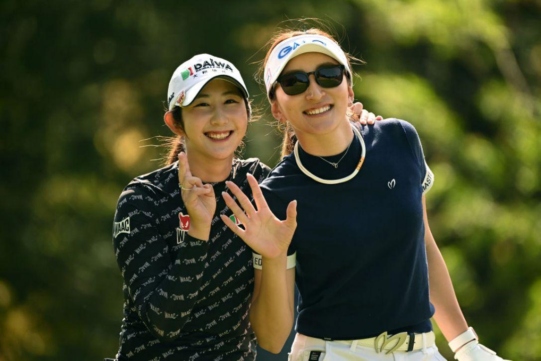 Tポイント×ENEOS ゴルフトーナメント ペソンウ 脇元華 <Photo:Atsushi Tomura/Getty Images>