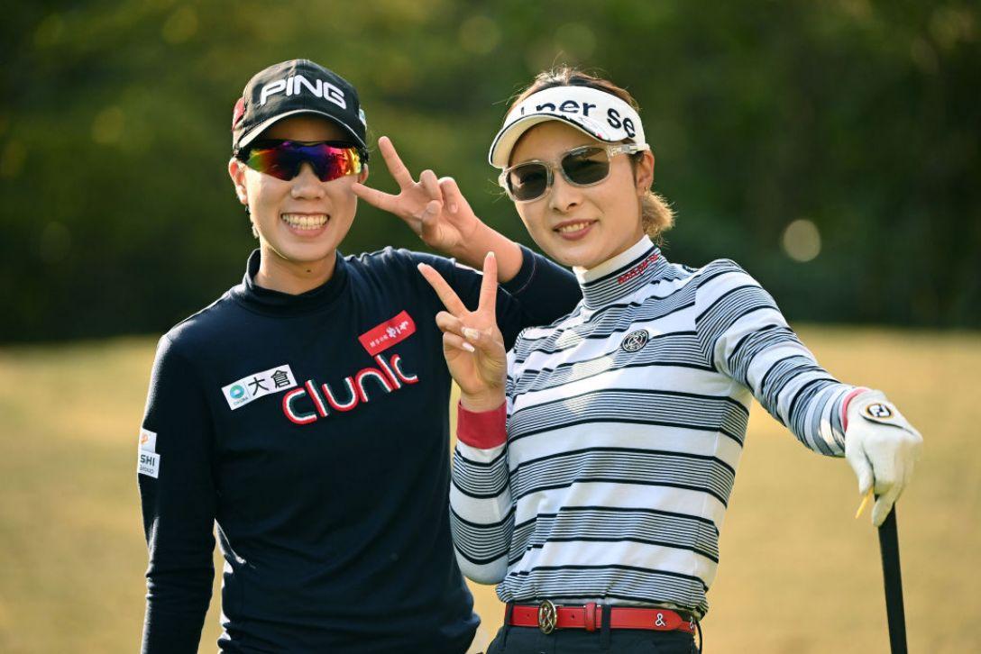 Tポイント×ENEOS ゴルフトーナメント ランクン 鶴岡果恋 <Photo:Atsushi Tomura/Getty Images>
