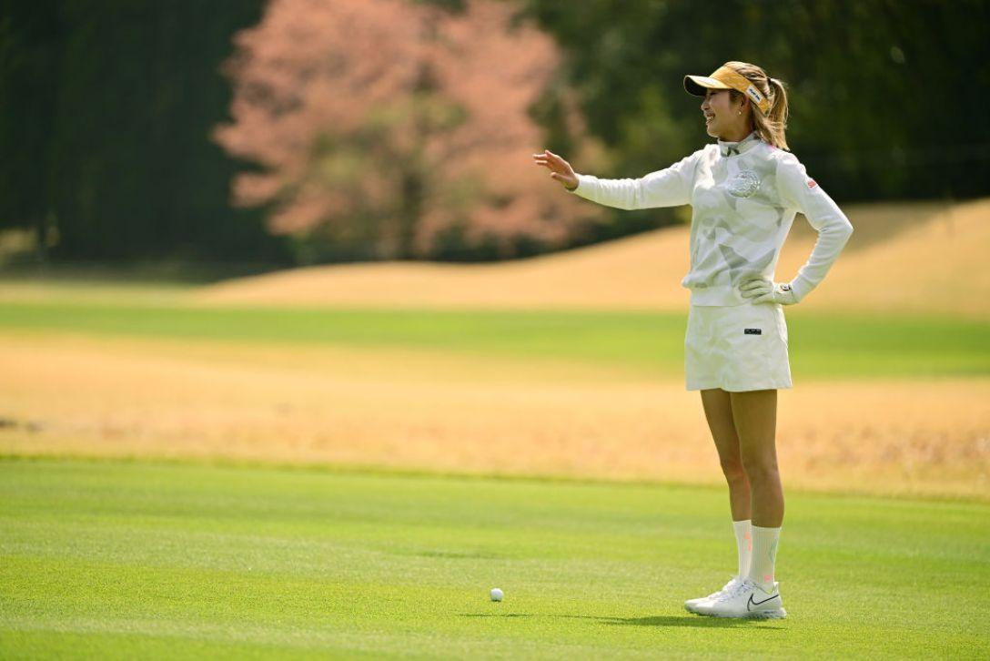 Tポイント×ENEOS ゴルフトーナメント 金田久美子 <Photo:Atsushi Tomura/Getty Images>
