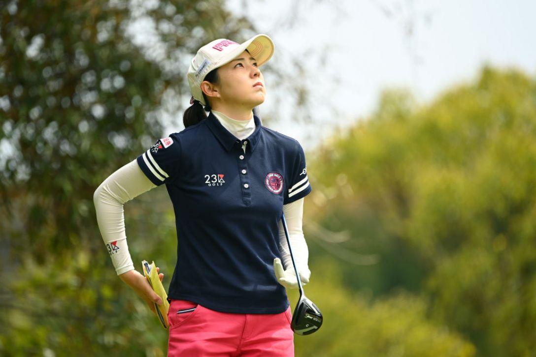 Tポイント×ENEOS ゴルフトーナメント 第1日 辻梨恵 <Photo:Atsushi Tomura/Getty Images>