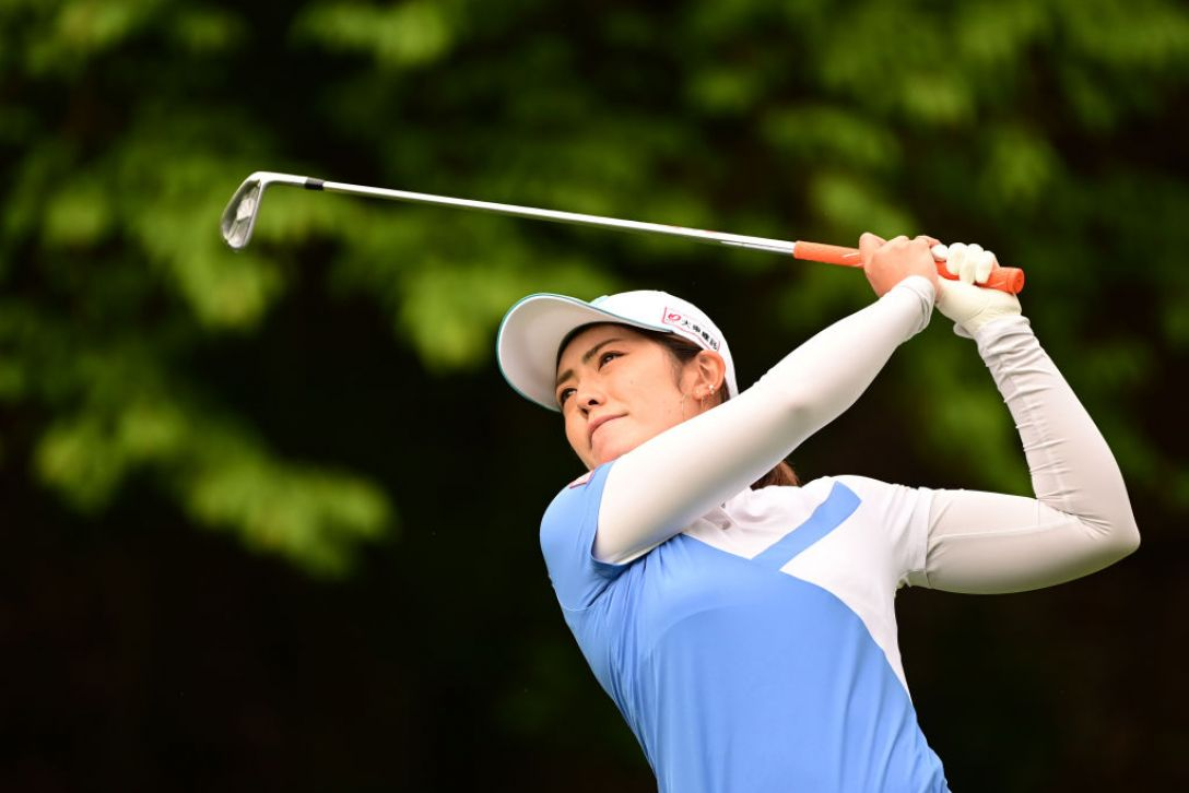 Tポイント×ENEOS ゴルフトーナメント 第1日 渡邉彩香 <Photo:Atsushi Tomura/Getty Images>