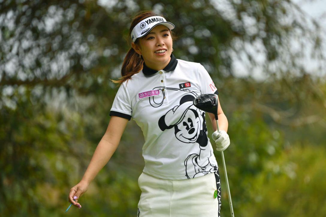 Tポイント×ENEOS ゴルフトーナメント 第1日 篠原まりあ <Photo:Atsushi Tomura/Getty Images>