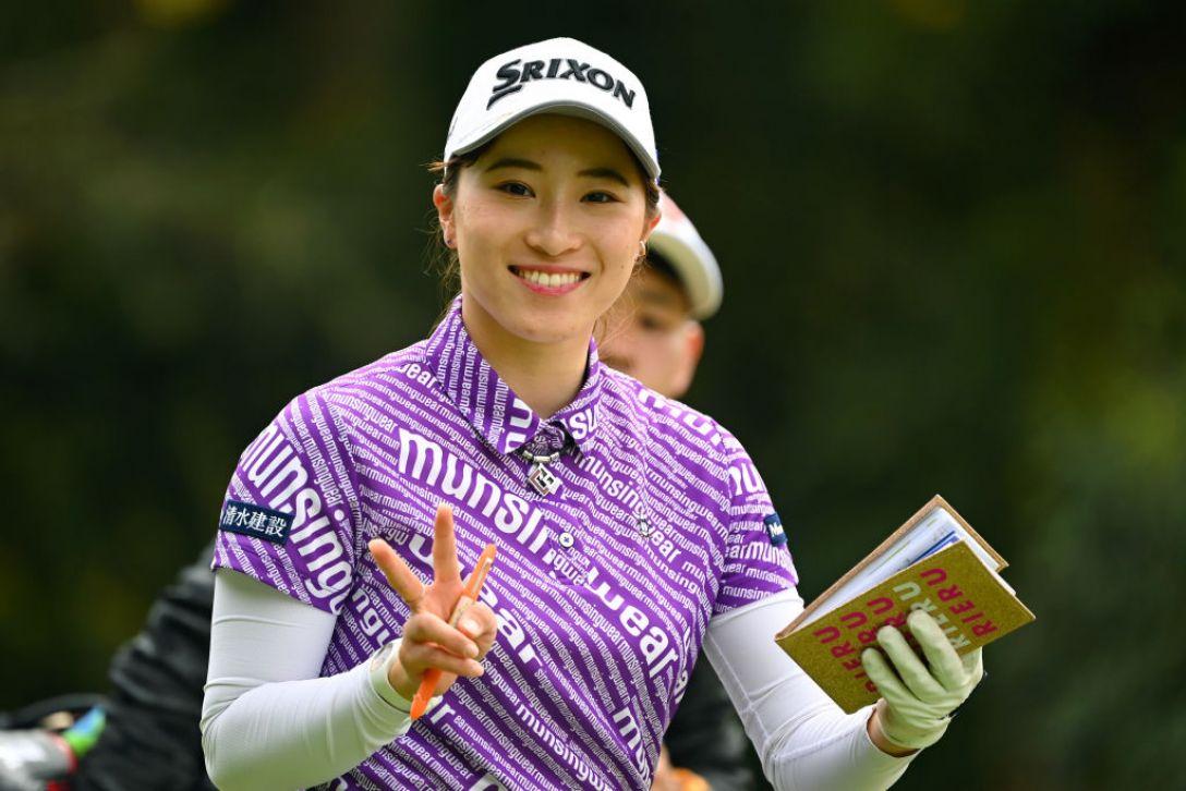 Tポイント×ENEOS ゴルフトーナメント 第1日 澁澤 莉絵留 <Photo:Atsushi Tomura/Getty Images>