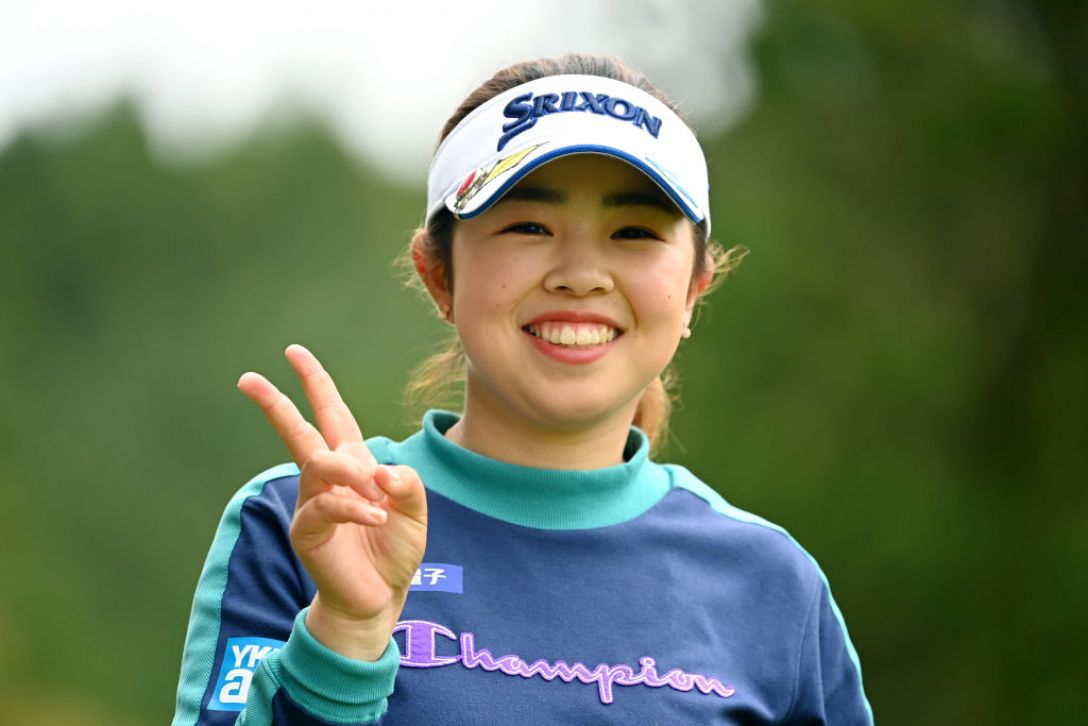 Tポイント×ENEOS ゴルフトーナメント 第1日 山下美夢有 <Photo:Atsushi Tomura/Getty Images>