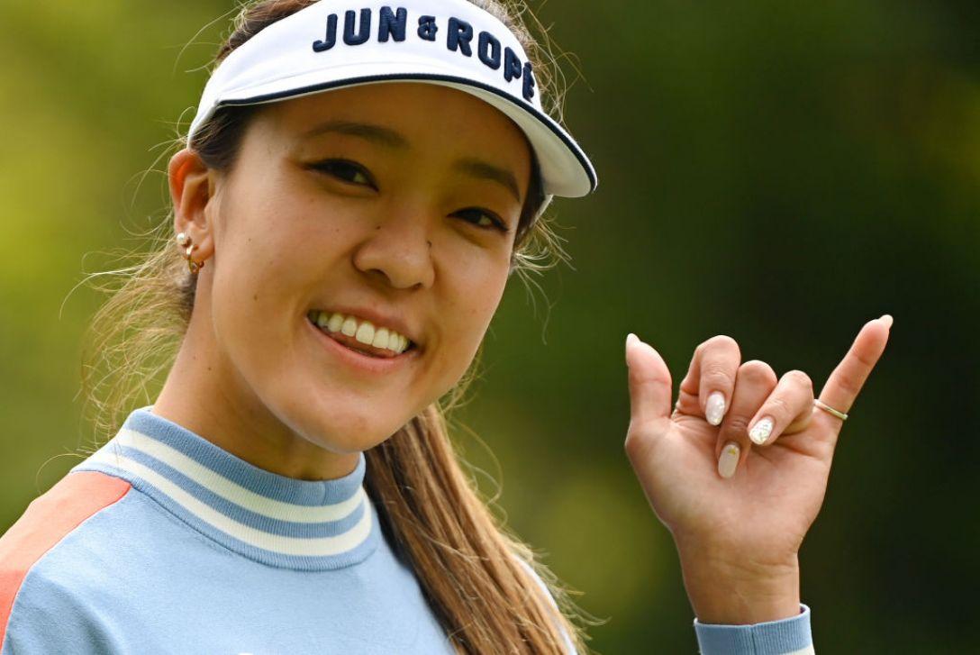 Tポイント×ENEOS ゴルフトーナメント 第1日 エイミーコガ <Photo:Atsushi Tomura/Getty Images>