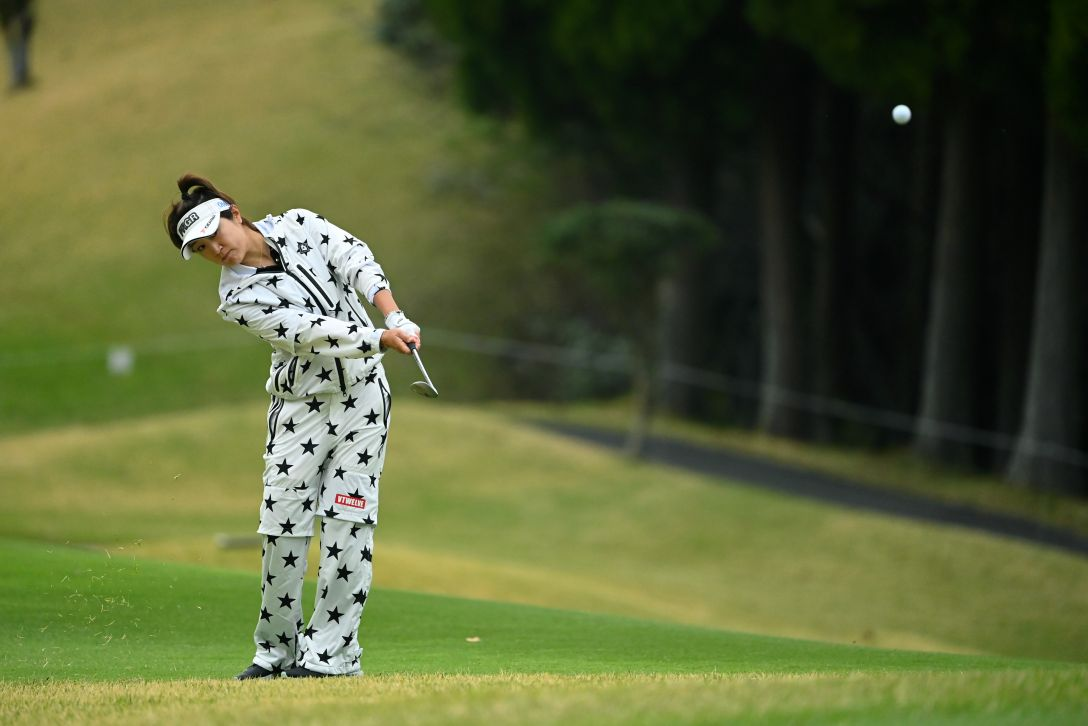 Tポイント×ENEOS ゴルフトーナメント 第2日 藤本麻子 <Photo:Atsushi Tomura/Getty Images>
