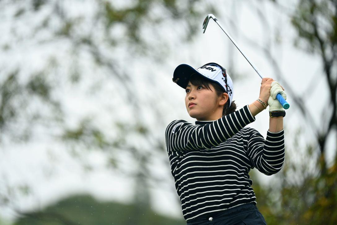 Tポイント×ENEOS ゴルフトーナメント 第2日 田辺ひかり <Photo:Atsushi Tomura/Getty Images>