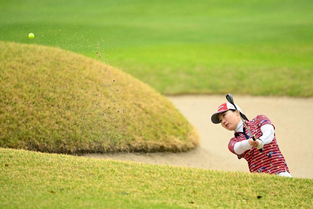 Tポイント×ENEOS ゴルフトーナメント 第2日 石川明日香 <Photo:Atsushi Tomura/Getty Images>