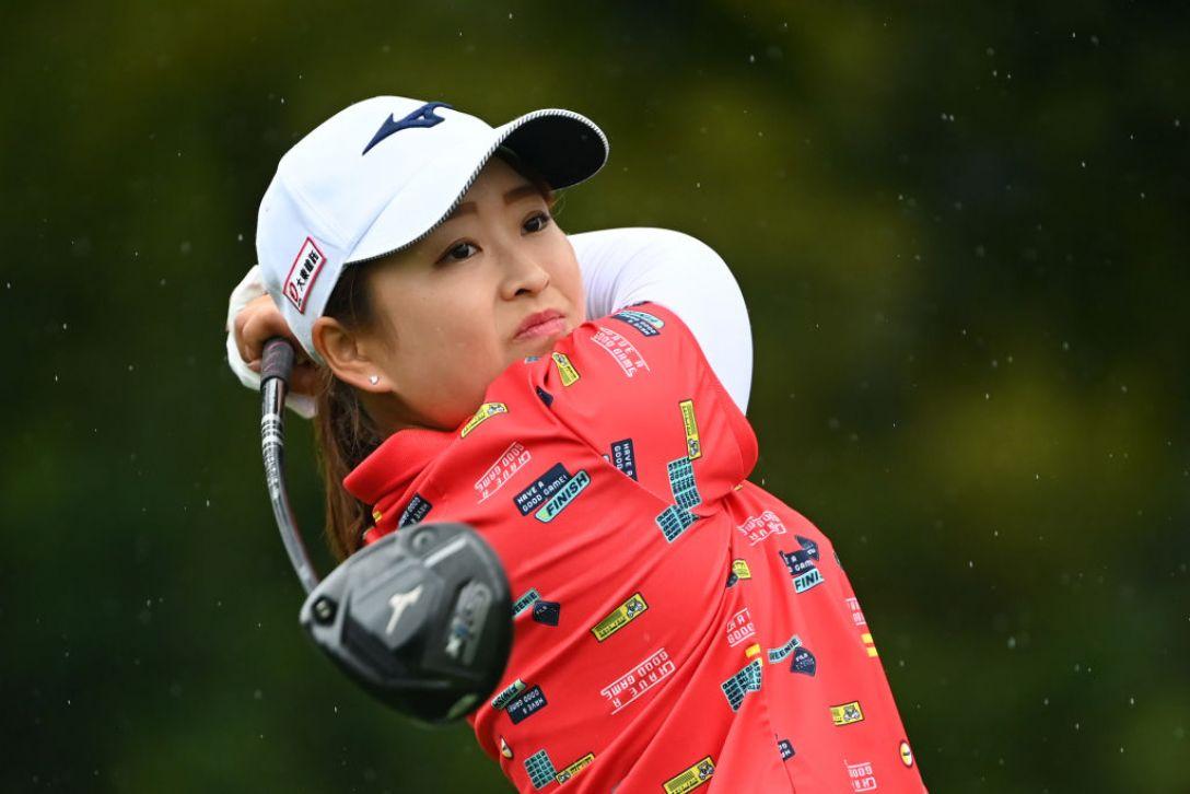 Tポイント×ENEOS ゴルフトーナメント 第2日 西郷真央 <Photo:Atsushi Tomura/Getty Images>