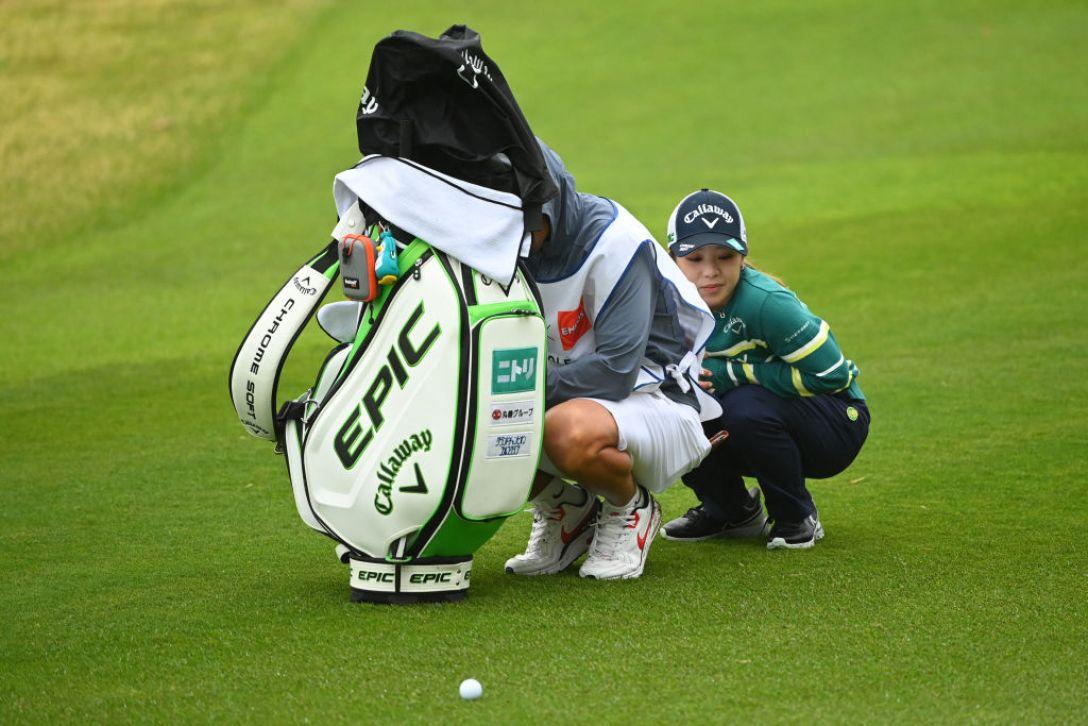 Tポイント×ENEOS ゴルフトーナメント 最終日 田中 瑞希  <Photo:Atsushi Tomura/Getty Images>