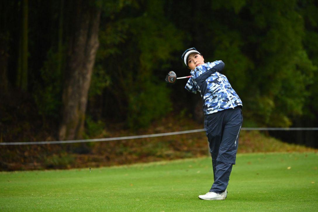 Tポイント×ENEOS ゴルフトーナメント 最終日 青木 瀬令奈 <Photo:Atsushi Tomura/Getty Images>