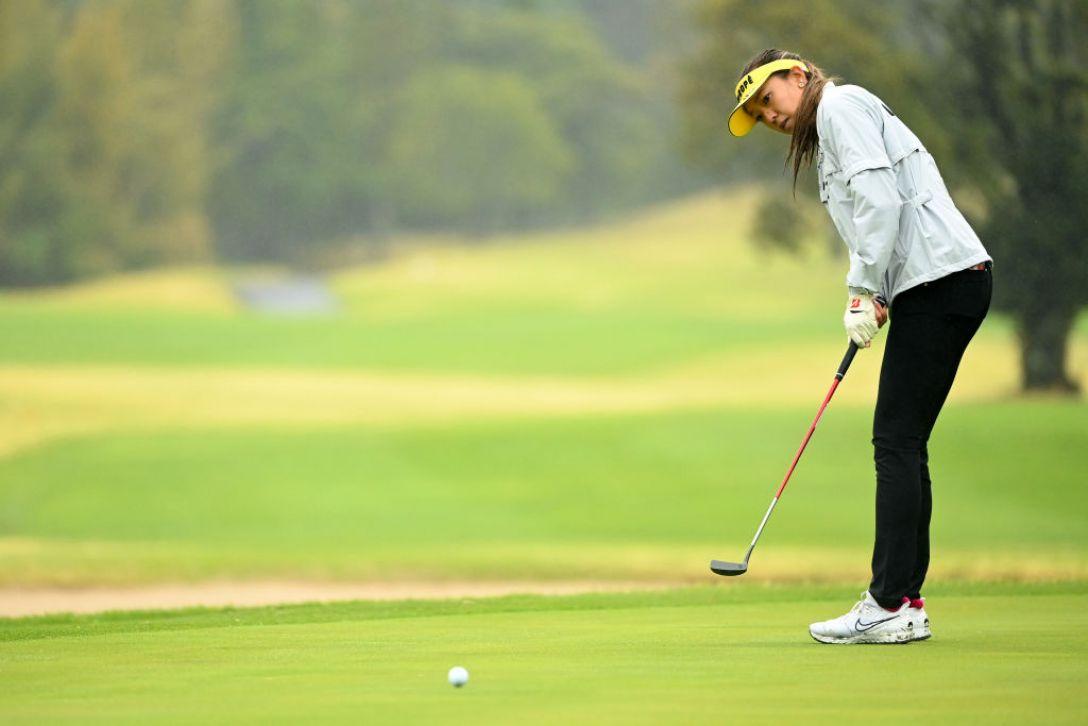 Tポイント×ENEOS ゴルフトーナメント 最終日 エイミー・コガ <Photo:Atsushi Tomura/Getty Images>