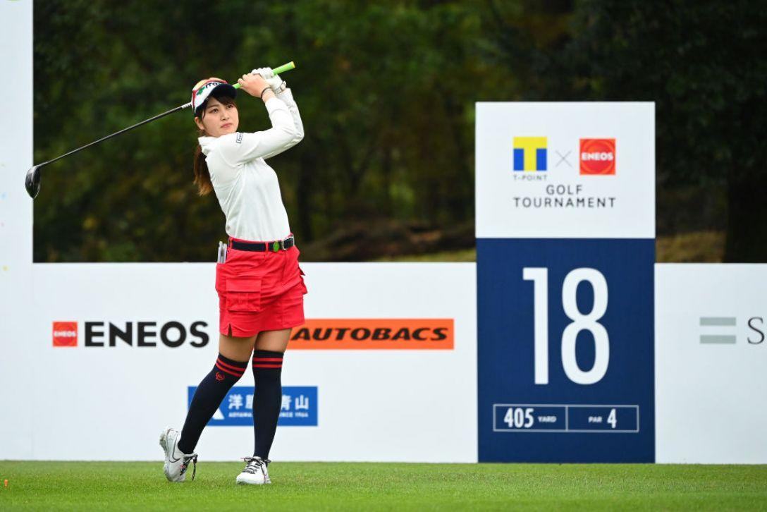 Tポイント×ENEOS ゴルフトーナメント 最終日 田辺ひかり <Photo:Atsushi Tomura/Getty Images>