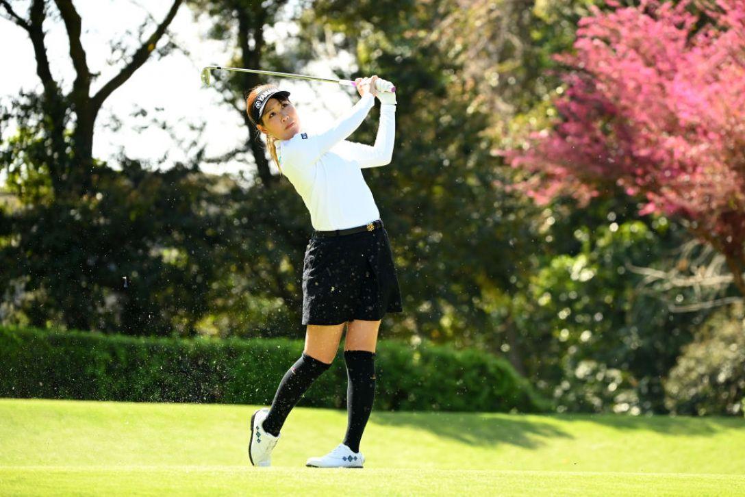 アクサレディスゴルフトーナメント in MIYAZAKI 2021 福田真未 <Photo:Atsushi Tomura/Getty Images>
